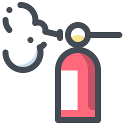 Foam Fire Extinguisher icon