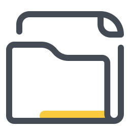 folder invoices--v3 icon