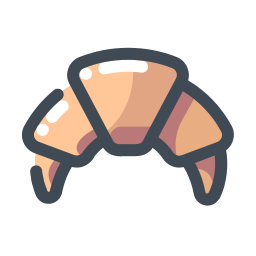 French Croissant icon