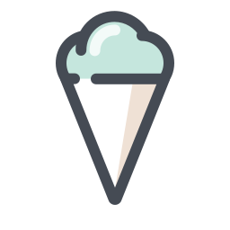 Ice Cream Fruit Cone icon