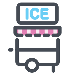 Ice Cream Trailer icon