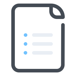 List View icon
