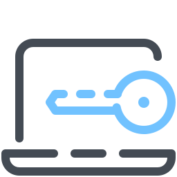 Laptop Key icon