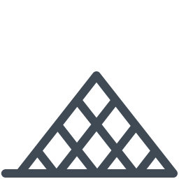 Louvre Pyramid icon