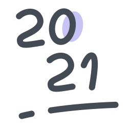 New Year 2021 icon