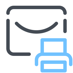 Print Message icon