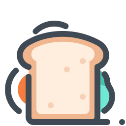 Sandwich With Fried Egg icon