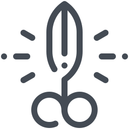 Cutting icon