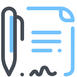 Sign Document icon