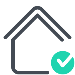 Smart Home Checked icon