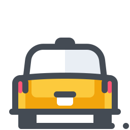 Taxi Back View icon