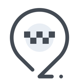 Taxi Rank Map Pin icon