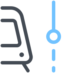 Tram Current Stop icon