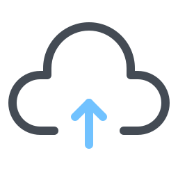 Upload to Cloud icon