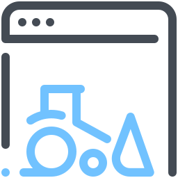 Webpage Construction icon