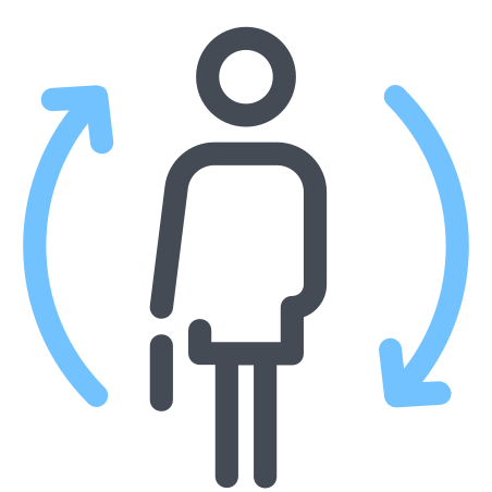 Change Employee Female icon