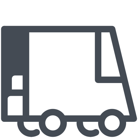Courier Truck Discharge icon