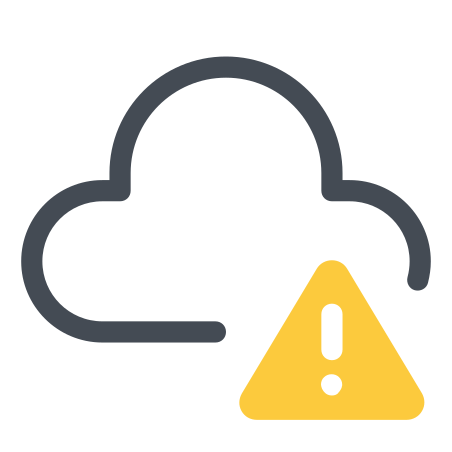 Error Cloud icon