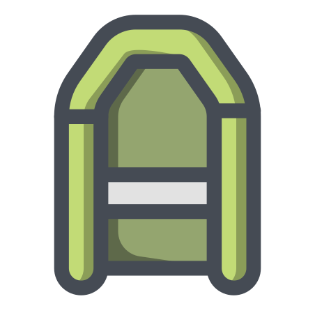 Green Rubber Boat icon