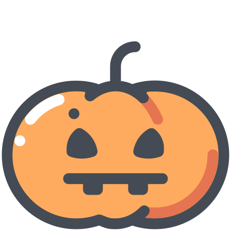 Calabaza de halloween icon