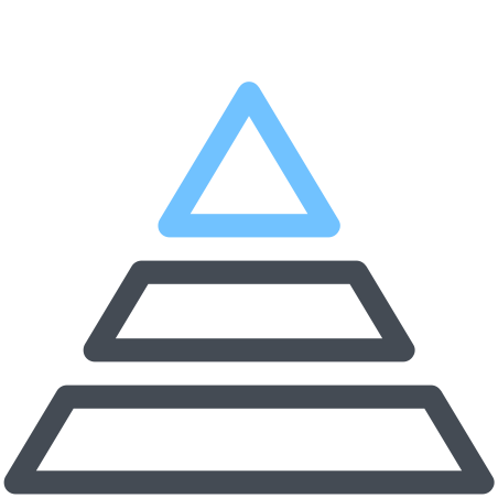Information Pyramid icon