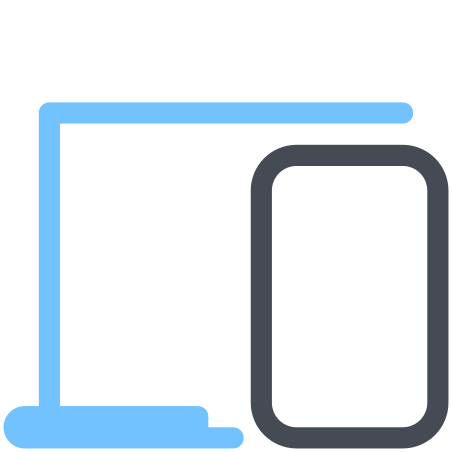 Laptop And Phone icon