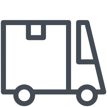 Large Courier Truck icon