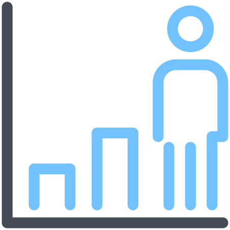 Person Growth icon