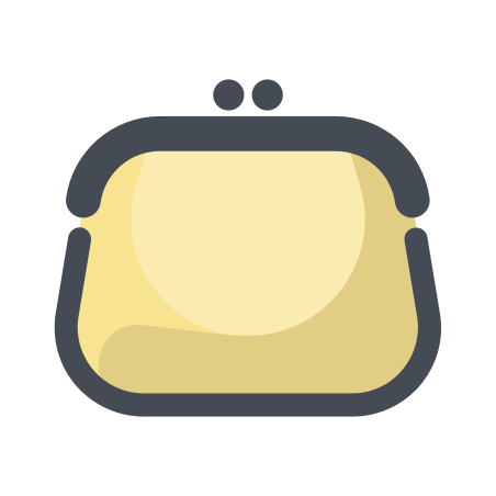 Purse Front View icon
