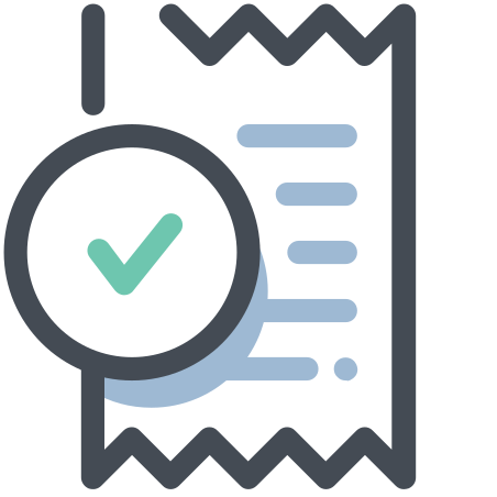 Receipt Approved icon