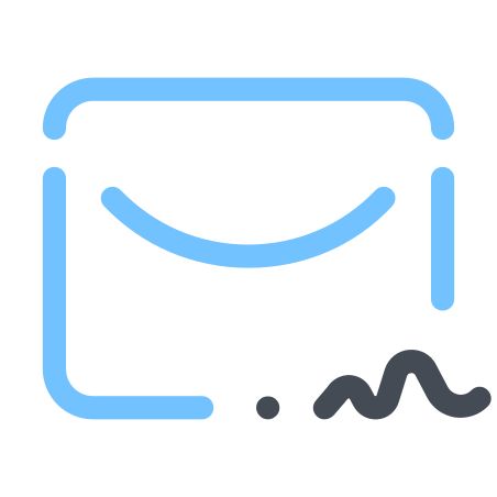 Sign Mail icon
