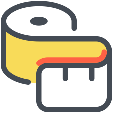 Sewing Tape Measure icon