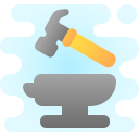Hammer and Anvil icon