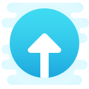 Login Rounded Up icon