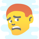 Scared Face Meme icon