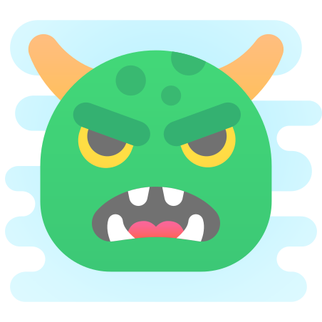 Monster Face icon
