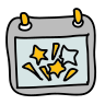 Firework Holiday Date icon