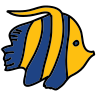 Flounder Fish icon