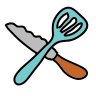 Knife and Spatchula icon