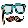 Mustaches Mask icon
