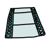 New Movie Film Strip icon