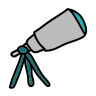 Telescope icon