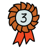 Third Place Ribbon icon