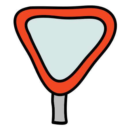 Give Way Signpost icon