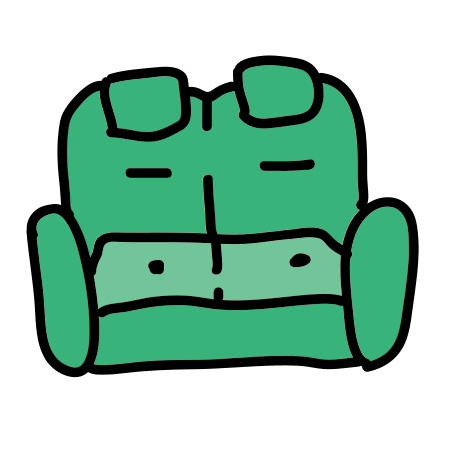 Sofa With Buttons icon