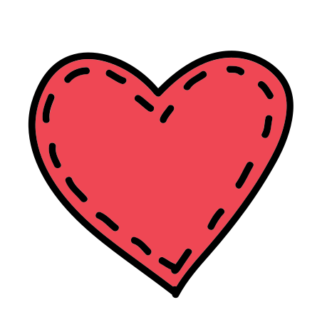 Stitched Heart icon
