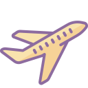 airplane take-off icon