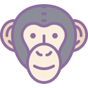 Chimpanzee icon