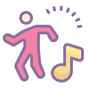 Dancing icon