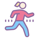 Girl Running icon